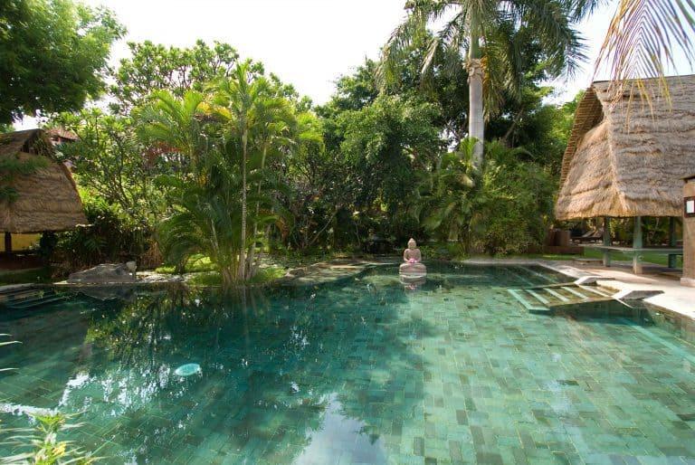 hotel gerokgak indonésie panorama