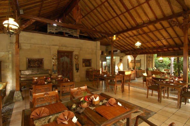 hotel gerokgak indonésie restaurant