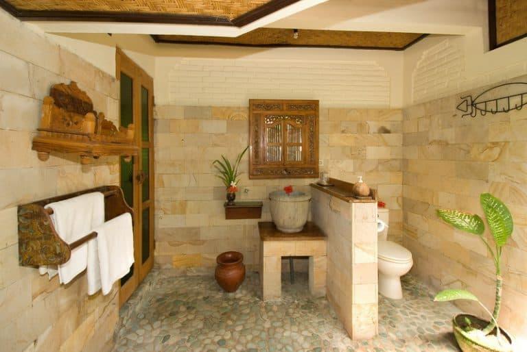hotel gerokgak indonésie salle de bain standard