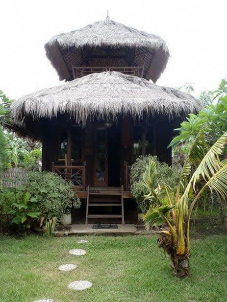 hotel gili air bungalow extérieur