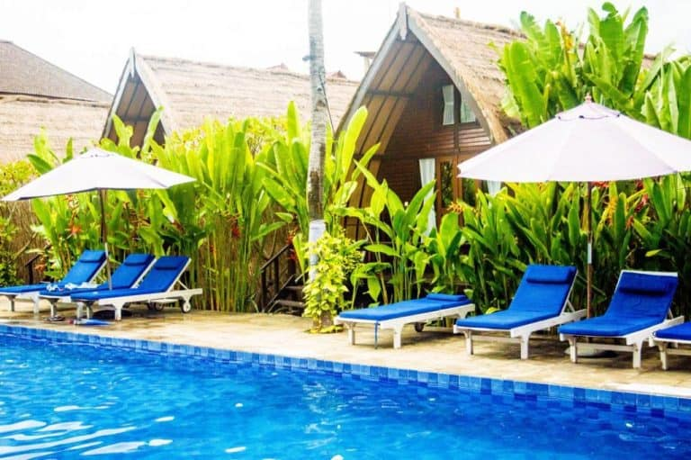 hotel gili air lombok piscine