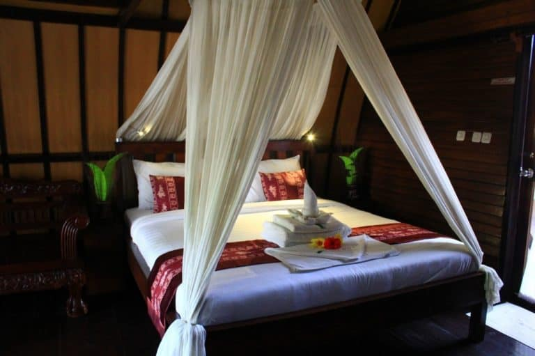 hotel gili air lombok chambre