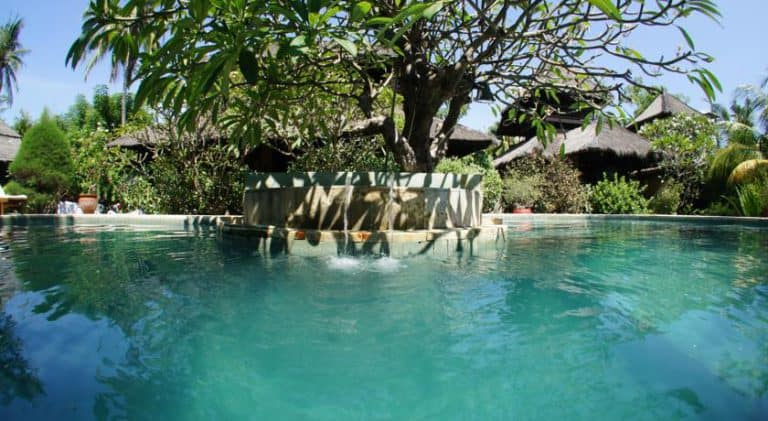 hotel gili air piscine