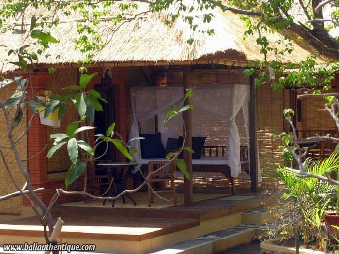 hotel gili indonésie bungalow