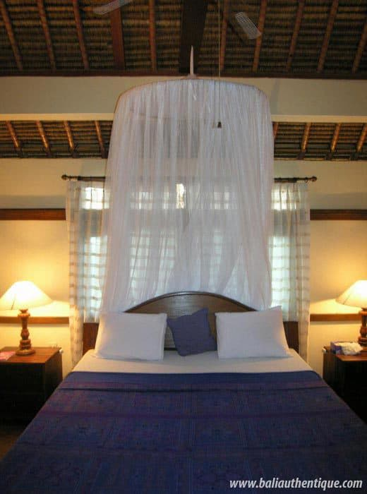 hotel gili indonésie chambre