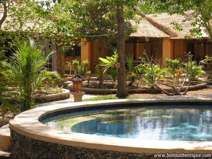 hotel gili indonésie piscine extérieure