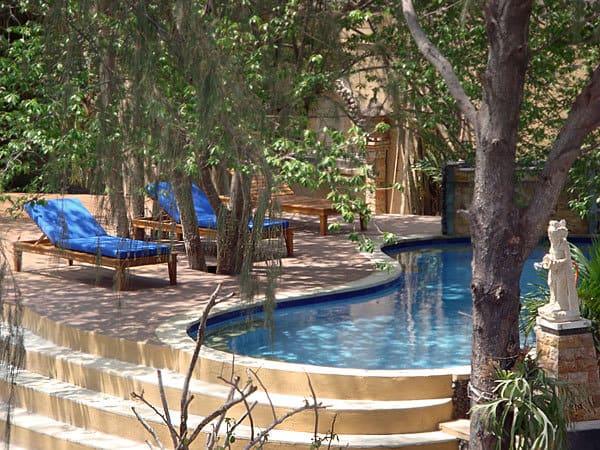 hotel gili indonésie piscine