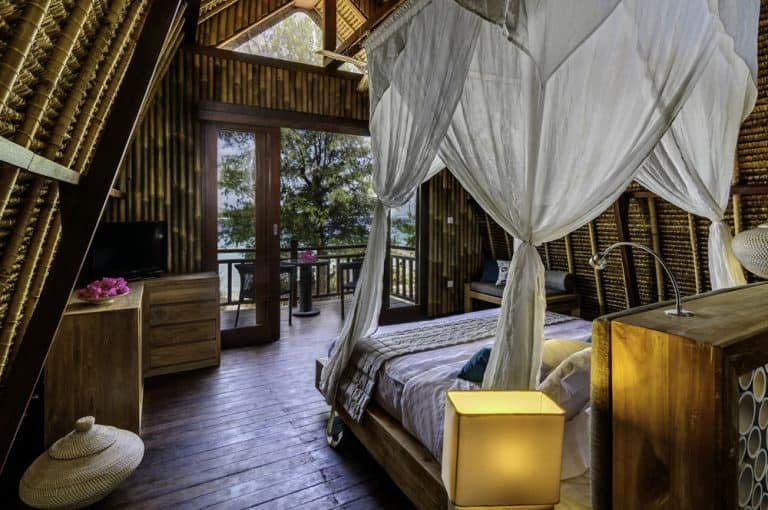 hotel gili meno lombok chambre