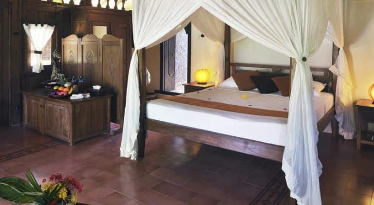 hotel gili trawangan chambre double