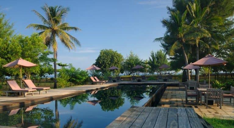 hotel gili trawangan piscine