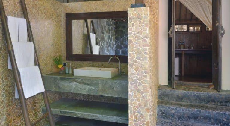 hotel gili trawangan salle de bain