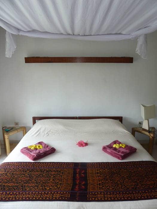hotel indonésie flores chambre double