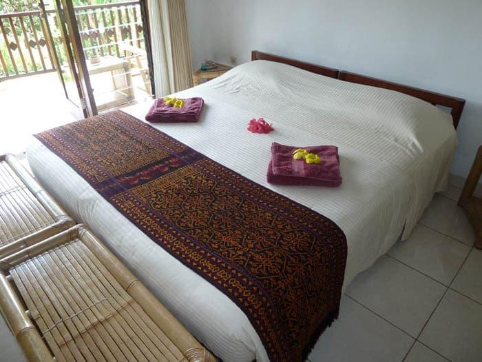 hotel indonésie flores chambre