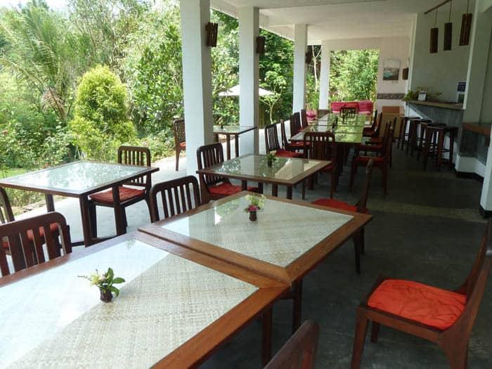 hotel indonésie flores restaurant