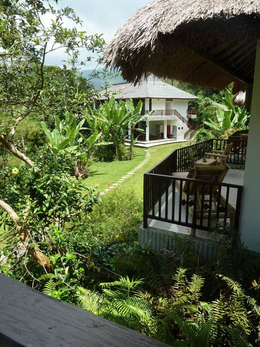 hotel indonésie flores terrasse bungalow