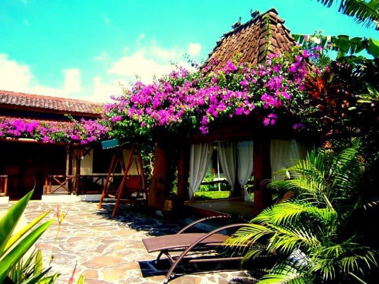 hotel indonésie java bungalow