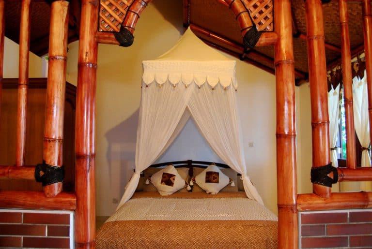 hotel indonésie java chambre