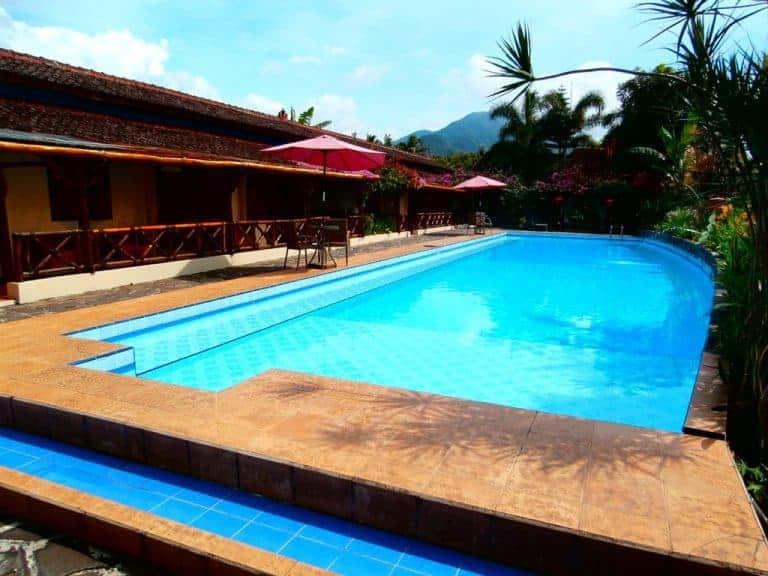 hotel indonésie java piscine extérieure