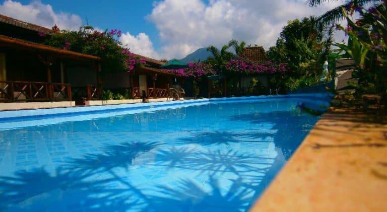 hotel indonésie java piscine