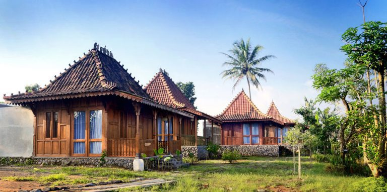 hotel java borobudur bungalow