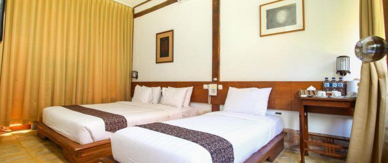 hotel java borobudur chambre triple