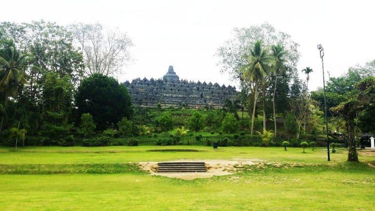 hotel Java Borobudur vue