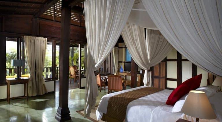 hotel java indonésie chambre double