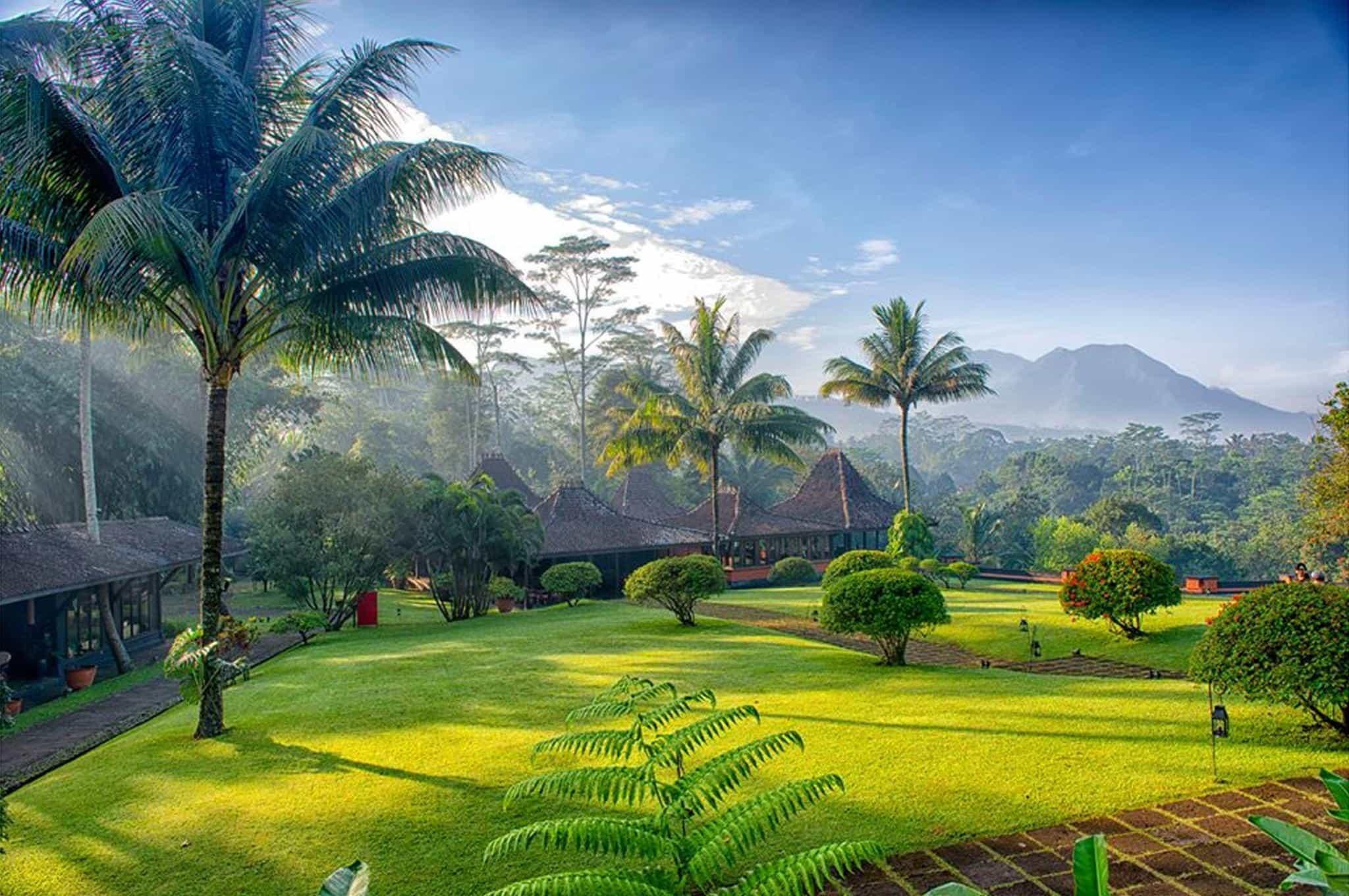 hotel java indonésie panorama