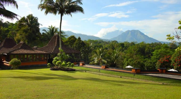 hotel java indonésie parc