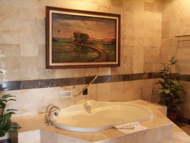 hotel java indonésie salle de bain
