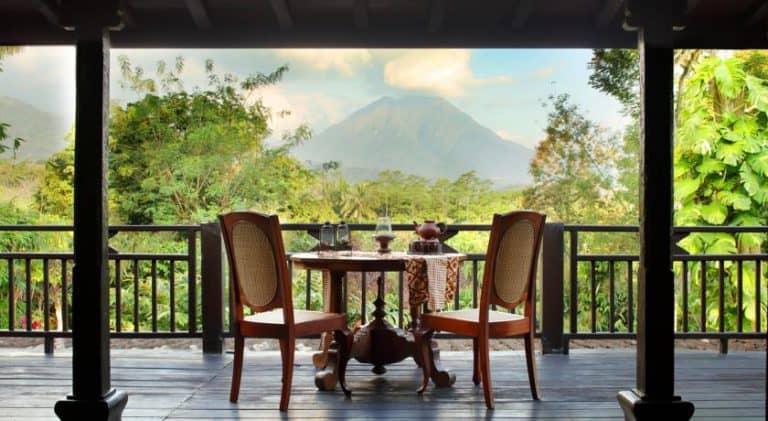 hotel java indonésie terrasse