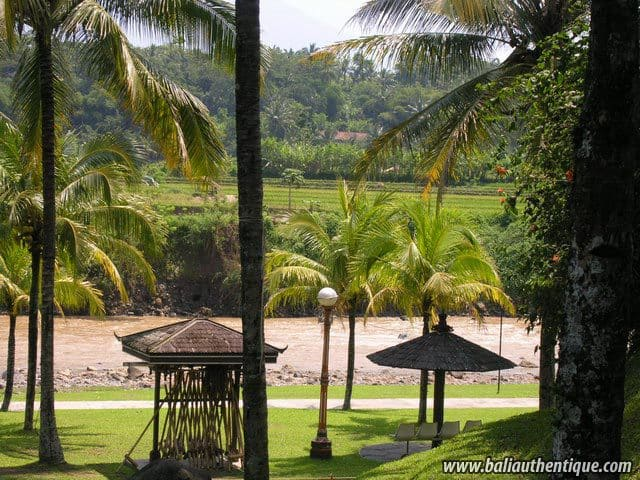 hotel java indonésie vue hotel