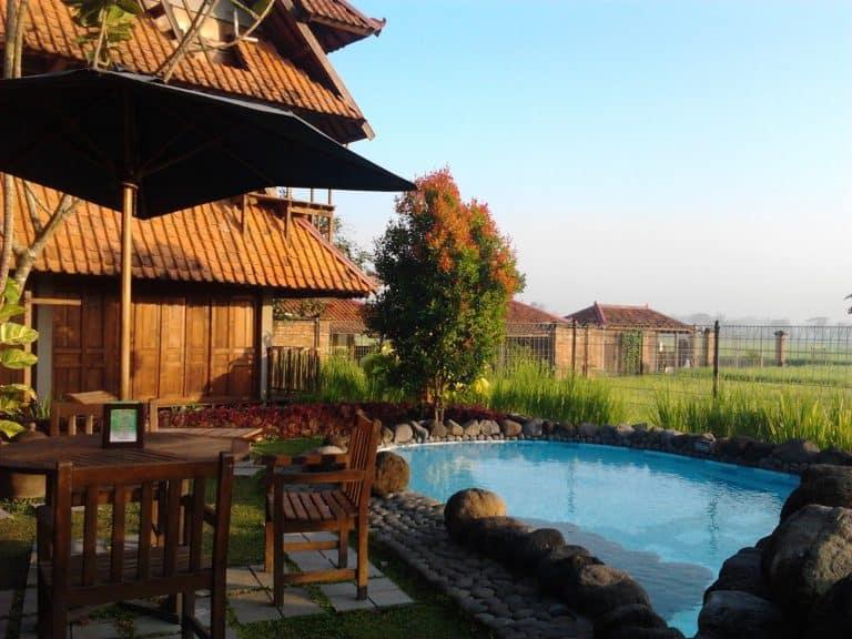 hotel java yogyakarta terrasse