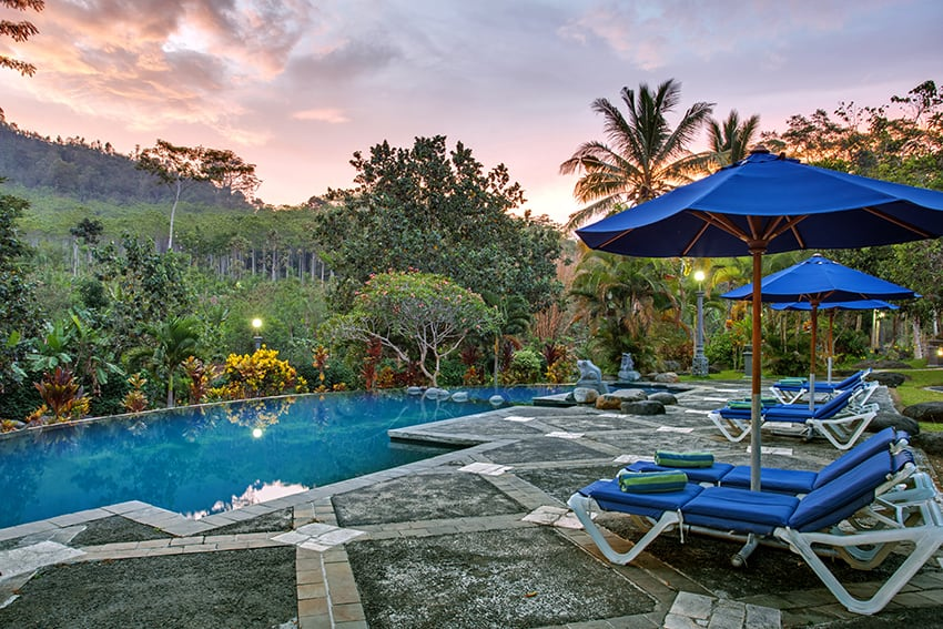 hotel kalibaru indonésie panorama