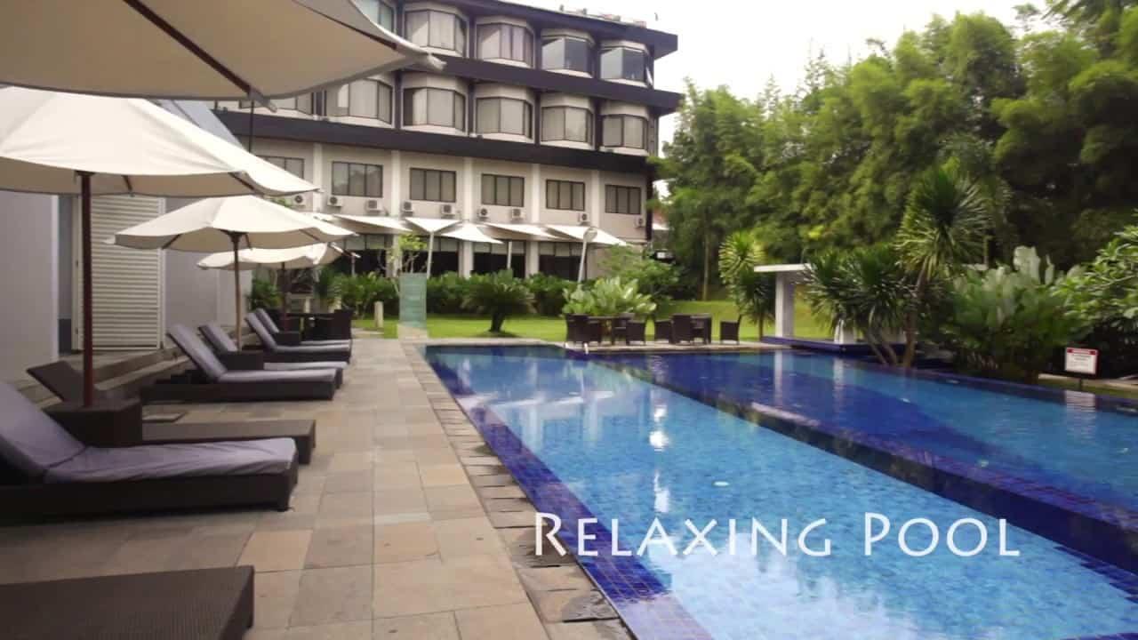 hotel Kalimantan vue piscine