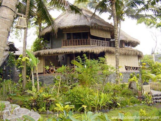 hotel karangasem indonésie bungalows