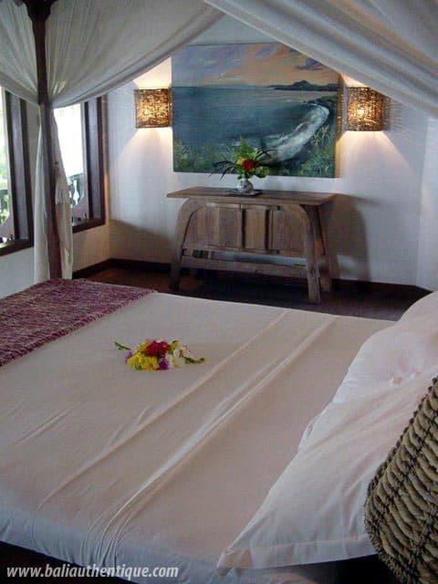 hotel karangasem indonésie chambre double