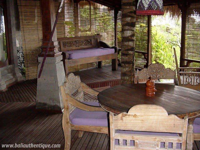 hotel karangasem indonésie restaurant