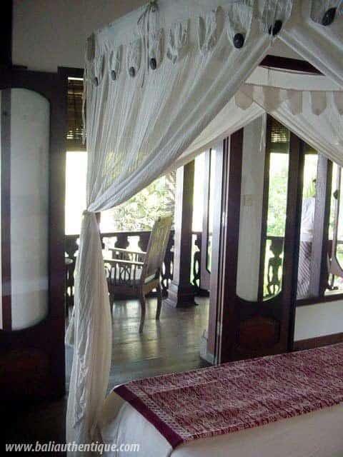 hotel karangasem indonésie vue chambre