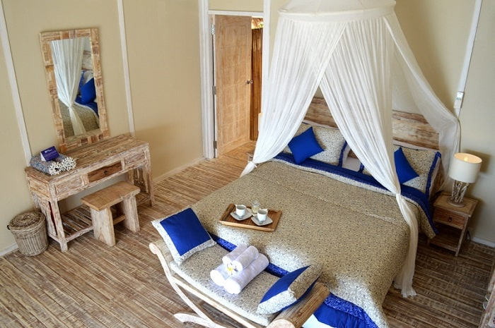 hotel komodo chambre luxe