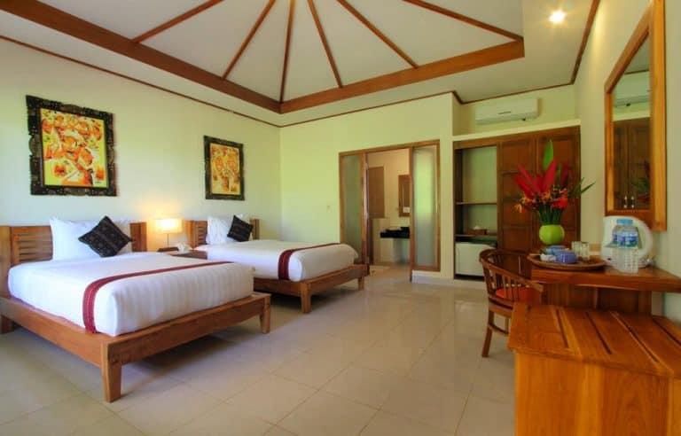 hotel labuan bajo flores chambre twin