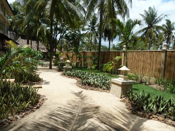 hotel lombok bali allée