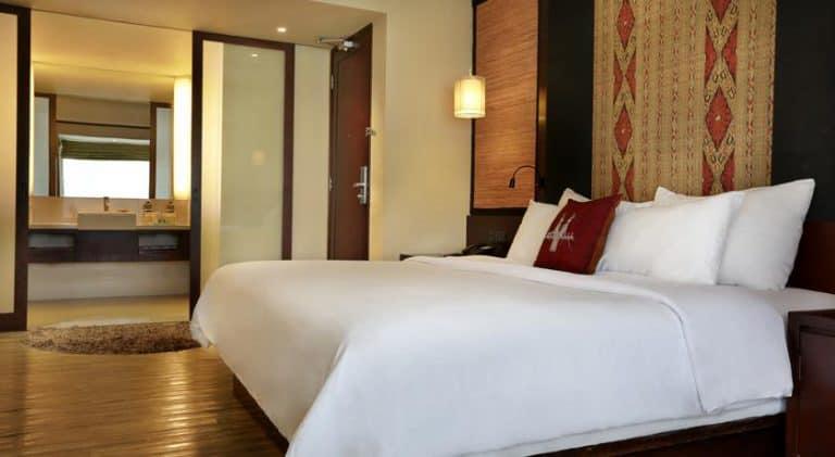 hotel lombok bali chambre spacieuse