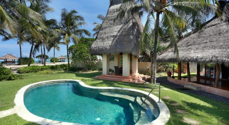hotel lombok bali piscine