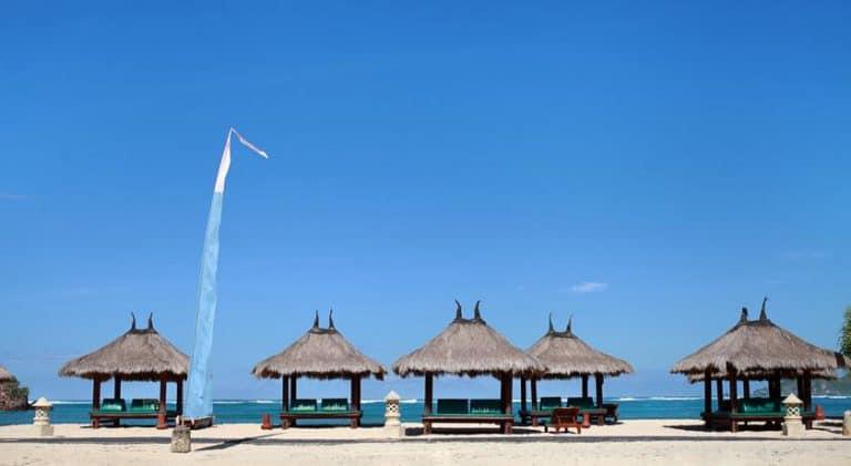 hotel lombok bali plage luxe