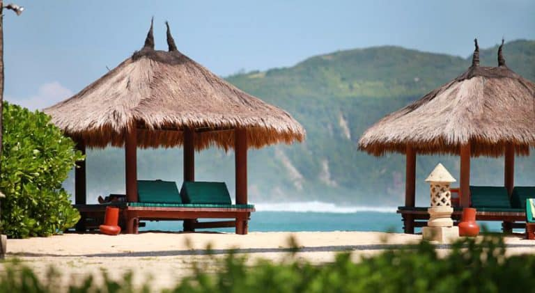 hotel lombok bali plage