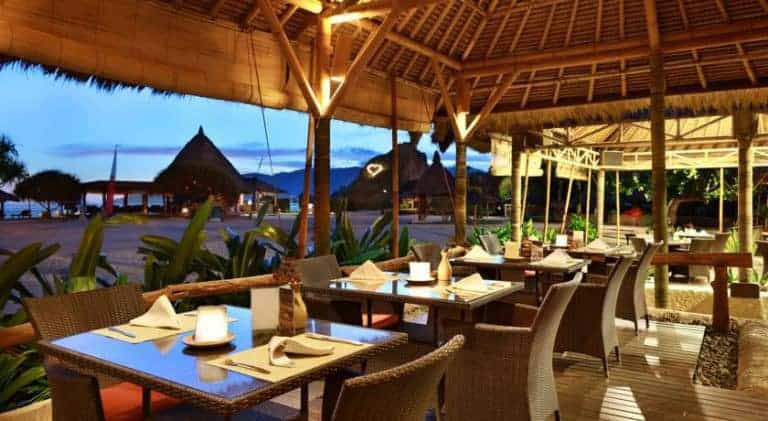 hotel lombok bali restaurant