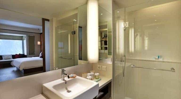hotel lombok bali salle de bain