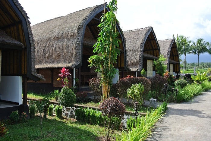 hotel lombok bungalows extérieur