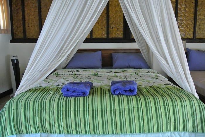 hotel lombok chambre